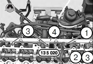 головка блока bmw m57 2.5