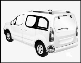Замена колеса Citroen Berlingo II Peugeot Partner