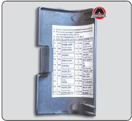 Ланос шевроле предохранители схема