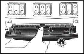Пепельница DAF XF95