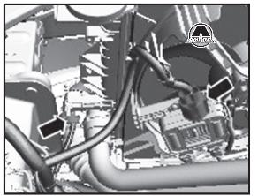 снятие двигателя ford s max 2.5