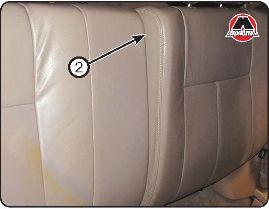 Складывание и регулировка спинки заднего сиденья Great Wall Hover