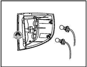 Задний комбинированный блок световых сигналов Great Wall Hover H5
