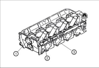 Головка блока цилиндров GW Hover H3