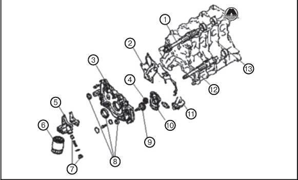 Передняя торцевая крышка GW Hover H3