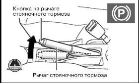 Управление рычагом стояночного тормоза GW Hover H3