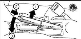 Разблокирование стояночного тормоза GW Hover H3