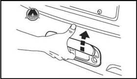 Открывание двери багажного отсека GW Hover H3