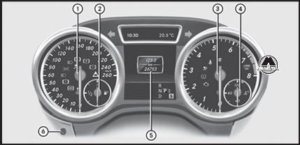 мерседес мл 400 2013 значок бортовое диагностирование двигателя