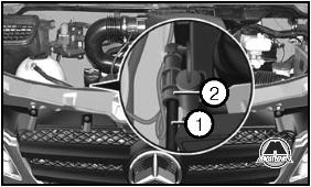 как удалить воду из бензобака мерседес спринтер
