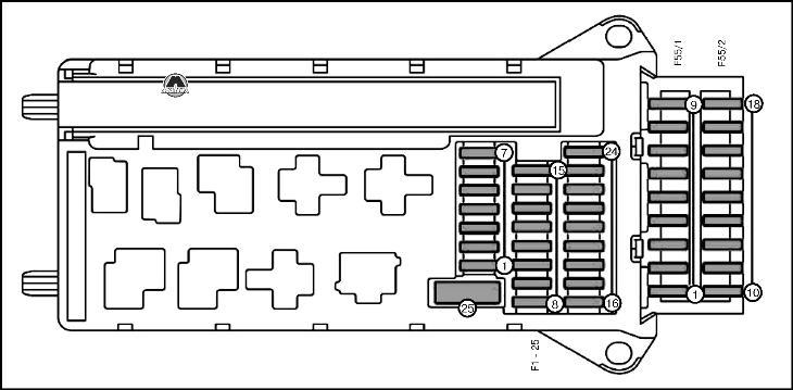 Схема на мерс спринтер