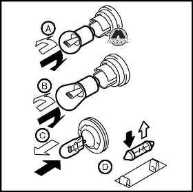 Замена ламп Nissan Juke
