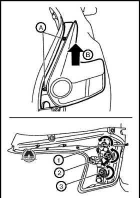 Задний комбинированный фонарь Nissan Juke