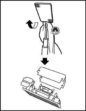 Плафон освещения багажного отделения Nissan Juke