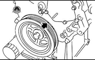 Проверка величины теплового зазора Nissan Murano