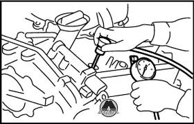 Проверка компрессии Nissan Murano