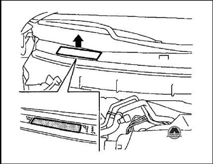 Идентификационный номер Nissan X-Trail Rogue