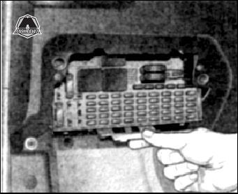Блок предохранителей и реле opel astra g opel zafira a с 1998 по 2004.