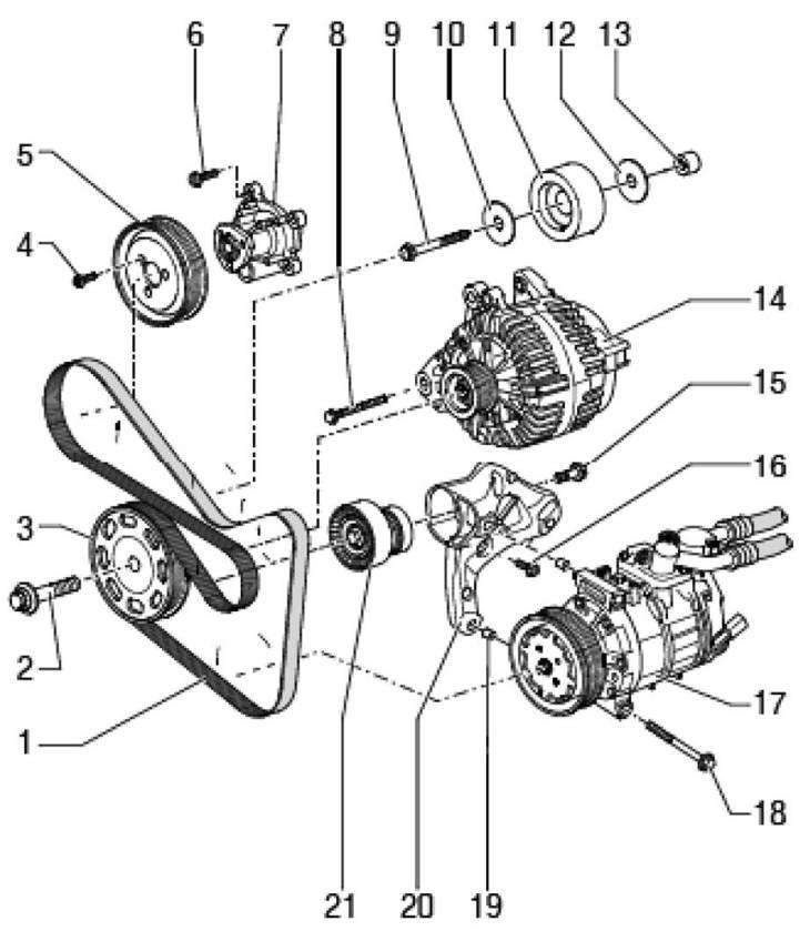 Двигатель Skoda Octavia A5.