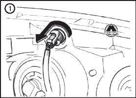 рав 4 2013 замена лампы стоп сигнала