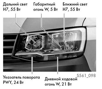 лампы транспортер т6