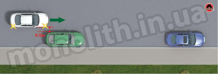 Расстояние между автомобилями
