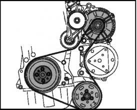 фольксваген транспортер замена ремня генератора