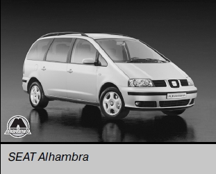 VW Sharan/SEAT Alhambra/Ford Galaxy