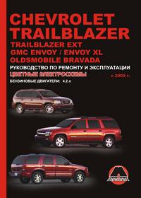 Руководство по ремонту Chevrolet Trailblazer / Chevrolet Trailblazer EXT /  ...