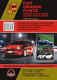 Руководство по ремонту Fiat Grande Punto / Fiat Grande Punto Sport с 2005 года
