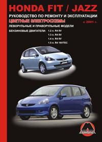 книга по ремонту honda fit, книга по ремонту хонда фит, руководство по ремонту honda fit, руководство по ремонту хонда фит