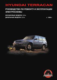 книга по ремонту hyundai terracan, книга по ремонту хундай терракан, руководство по ремонту hyundai terracan