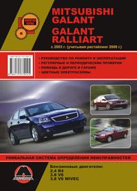 Руководство по ремонту Mitsubishi Galant / Mitsubishi Galant Ralliart с 200 ...