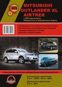 Руководство по ремонту Mitsubishi Outlander XL / Mitsubishi Airtrek с 2005 года