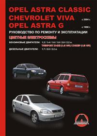 Руководство по ремонту Opel Astra Classic / Opel Astra G / Chevrolet Viva с ...