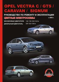Руководство по ремонту Opel Vectra C / Opel Vectra GTS / Opel Vectra Carava ...