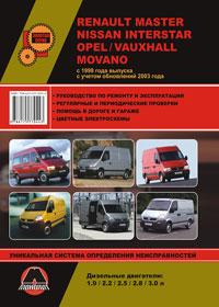 Руководство по ремонту Renault Master / Opel Movano / Nissan Interstar с 1998 года