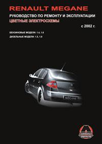 книга по ремонту renault megane, книга по ремонту рено меган, руководство по ремонту renault megane
