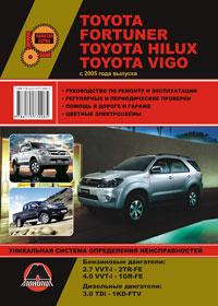 Руководство по ремонту Toyota Fortuner / Toyota Hilux / Toyota Vigo с 2005 года