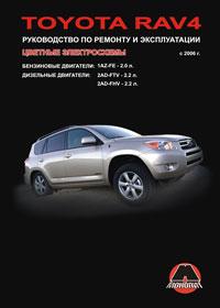 Руководство по ремонту Toyota RAV4 с 2006 года
