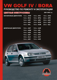 Руководство по ремонту Volkswagen Golf IV / Volkswagen Bora 2001-2003 года