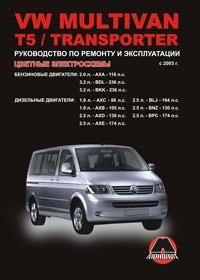 Руководство по ремонту Volkswagen Multivan / Volkswagen Т5 / Volkswagen Tra ...