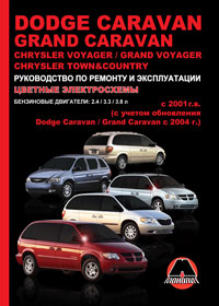 Руководство по ремонту Dodge Caravan / Grand Caravan / Chrysler Voyager / G ...