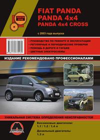 Руководство по ремонту Fiat Panda / Panda 4x4 / Panda 4x4 Cross c 2003 года