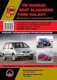 Руководство по ремонту Volkswagen Sharan / Seat Alhambra / Ford Galaxy с 2000 года