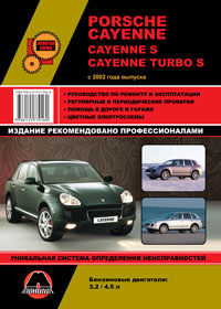 Руководство по ремонту Porsche Cayenne / Cayenne S / Cayenne Turbo S c 2002 года