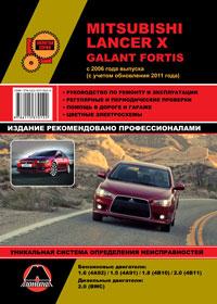 Руководство по ремонту Mitsubishi Lancer X / Mitsubishi Galant Fortis с 2006 года