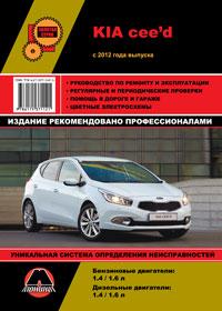 Руководство по ремонту Kia Ceed с 2012 года