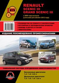 Руководство по ремонту Renault Scenic III / Renault Grand Scenic III с 2009 ...