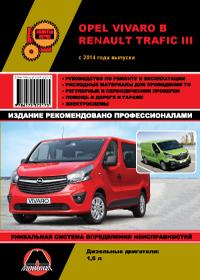 Руководство по ремонту Opel Vivaro B / Renault Trafic III с 2014 года